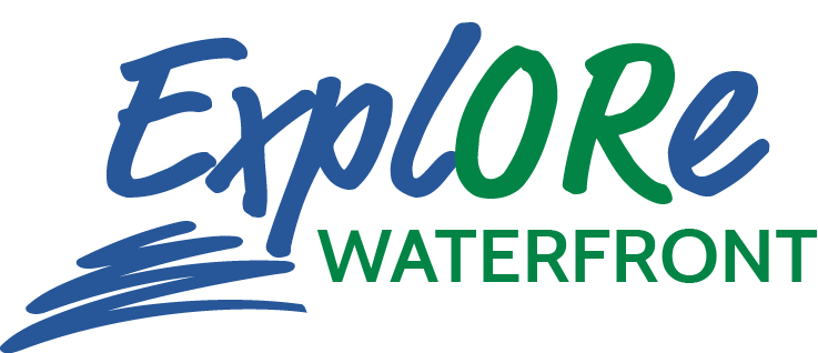 explore waterfront logo