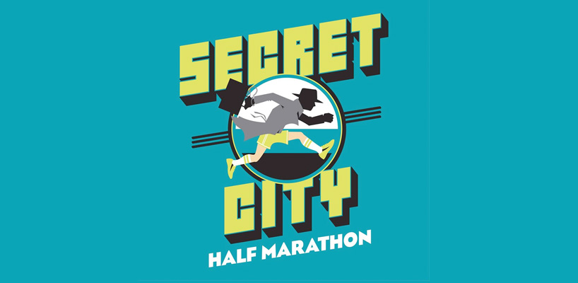 secret city half marathon logo