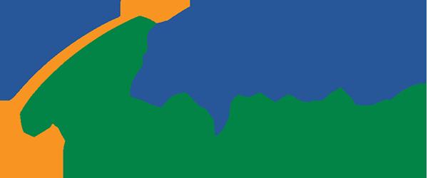 blue and green explore oak ridge logo