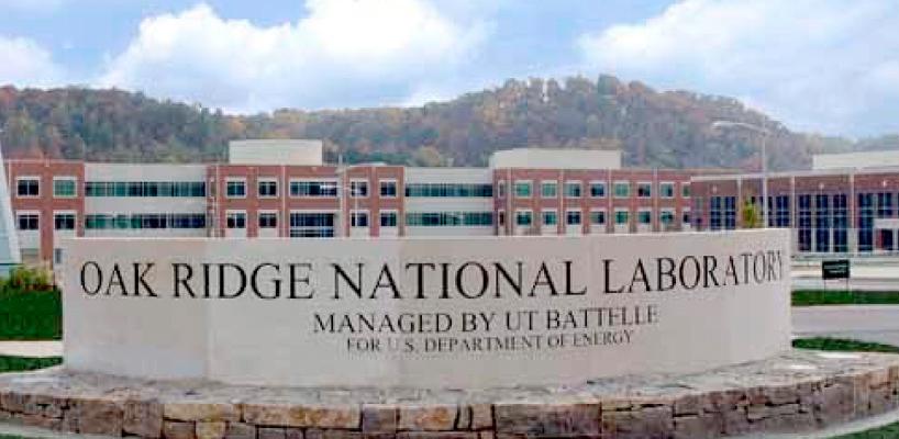 oak ridge national laboratory rock sign