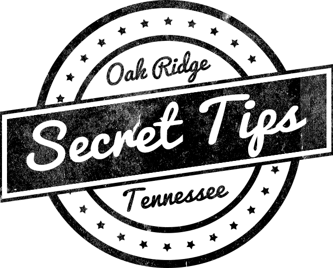 oak ridge Tennessee secret tips logo