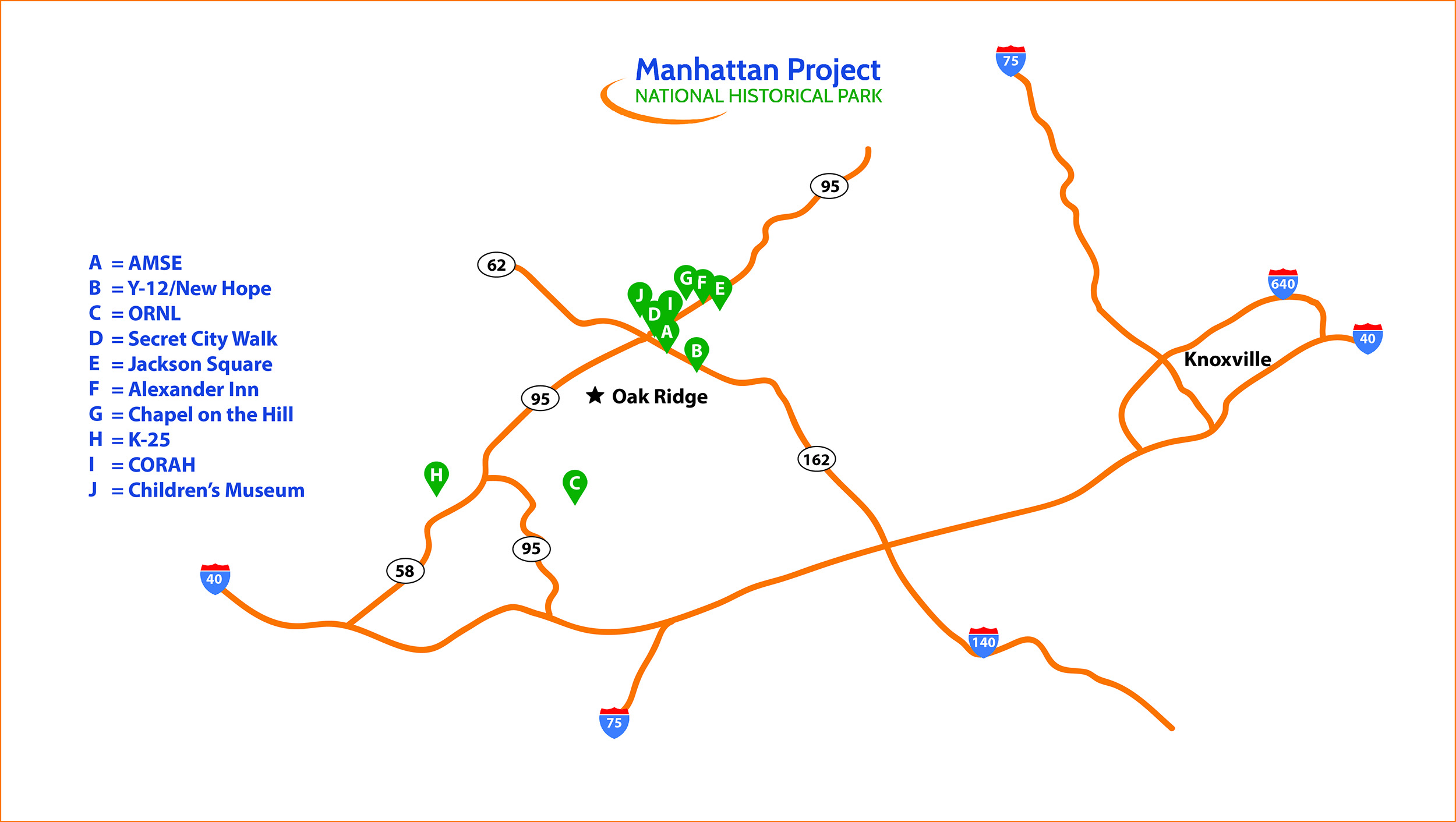 manhattan project map