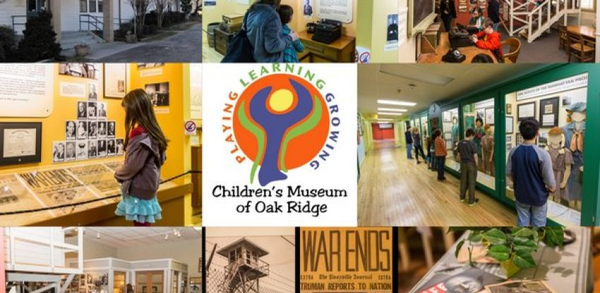 children's museum of oak ridge pictures collage