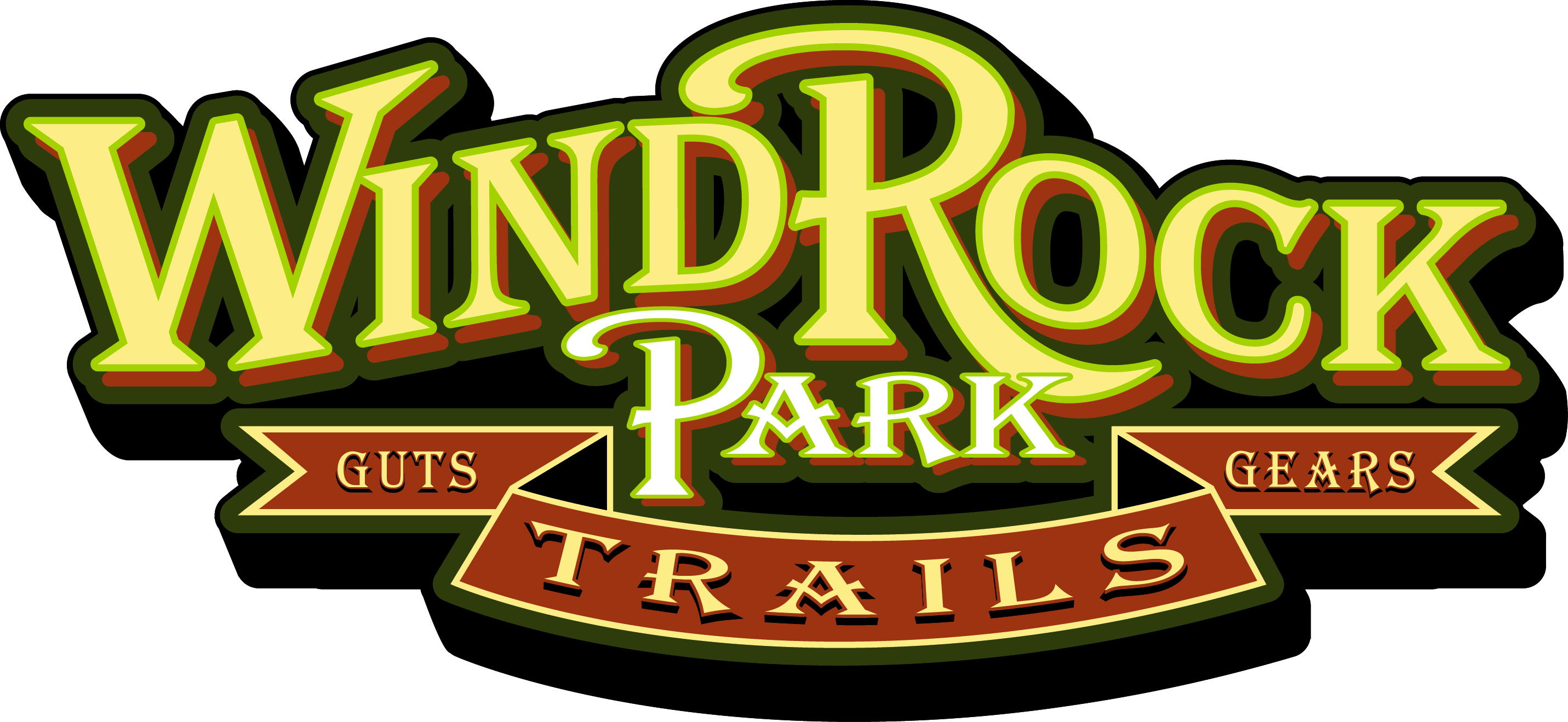 wind rock park trails logo