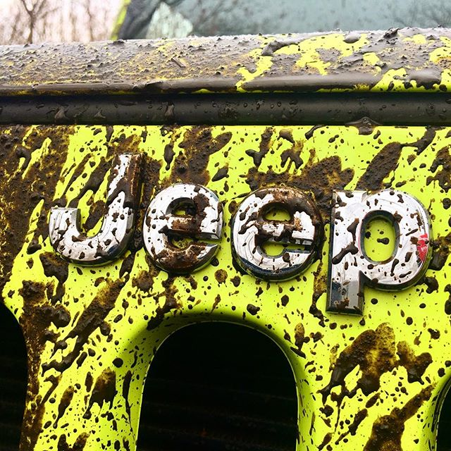 muddy bight green jeep from the jeep jam event