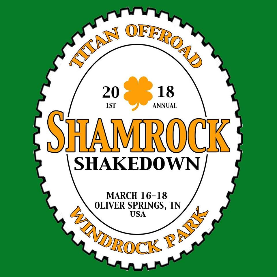shamrock shakedown at windrock park logo