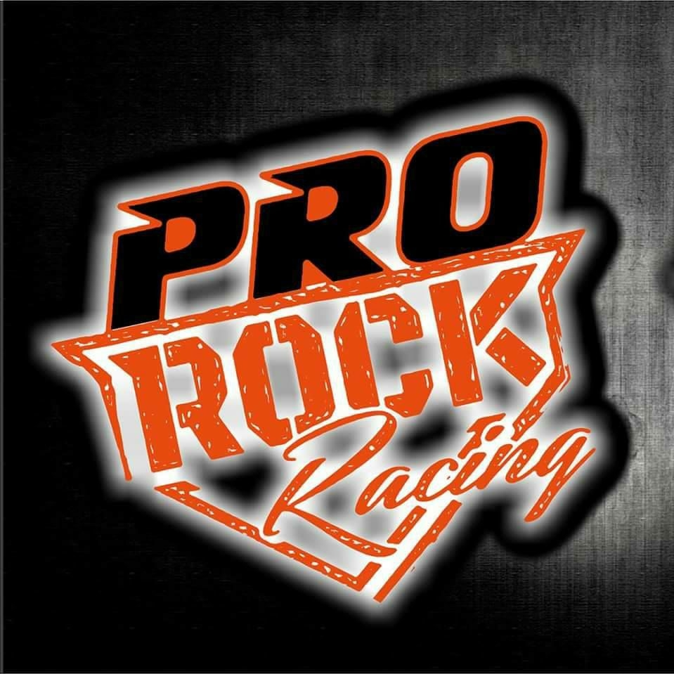 pro rock racing red and black logo