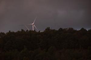 Windmills at Windrock Park.